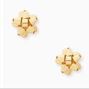 Kate Spade ♠️ NWT Gold Bow Stud Earrings